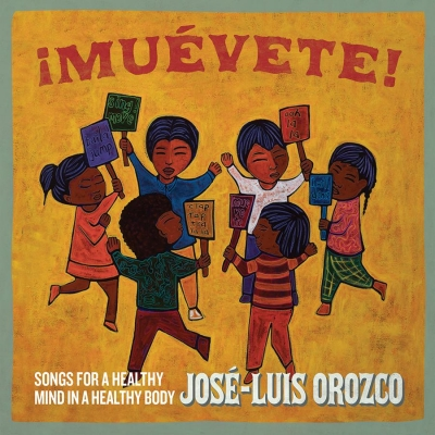 José-Luis Orozco Celebrates 50 Years of Bilingual Children's' Music with ¡Muévete! Songs for a Healthy Mind in a Healthy Body, out April 17