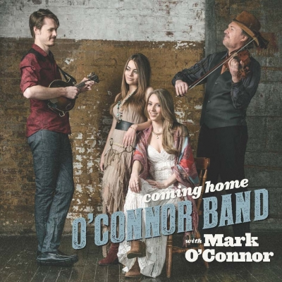 The O'Connor Band's 'Coming Home' debuts No. 1 on Billboard Bluegrass Albums Chart