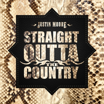 Justin Moore/ 'Straight Outta The Country'/ The Valory Music Co.