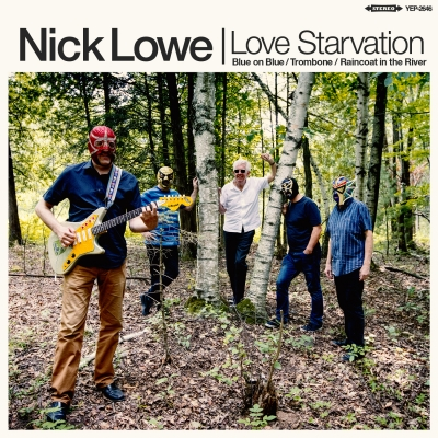 Nick Lowe Announces Second EP With Los Straitjackets Love Starvation / Trombone Out May 17 On Yep Roc Records