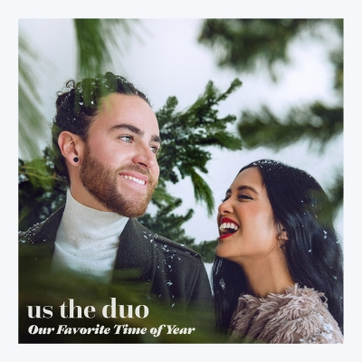 Us The Duo Releases First Holiday Album, 'Our Favorite Time of Year,' as an Amazon Original