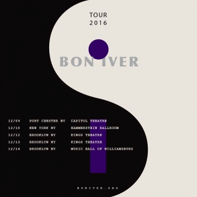 Bon Iver Confirms NYC-Area Shows for December
