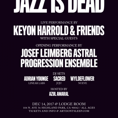 Keyon Harrold Announces Los Angeles Date at the Lodge Room