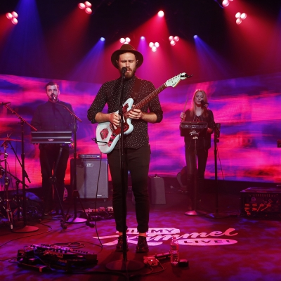 "James Vincent McMorrow Makes US Late Night TV Debut - Watch ""Get Low"" on Kimmel"