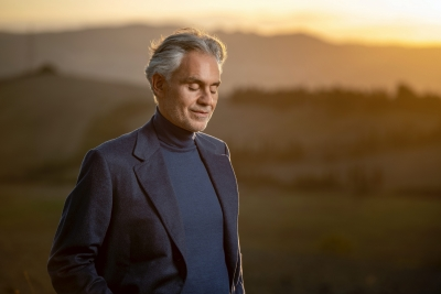 Andrea Bocelli Offers Intimate Christmas Performance Today From The Stunning Frassasi Caves In Genga, Italy