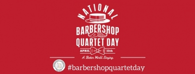 Barbershop Harmony Society Celebrates 80th Anniversary with National Barbershop Quartet Day