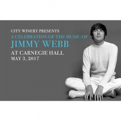 The Music of Jimmy Webb at Carnegie Hall