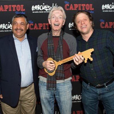 Grateful Dead Legend Phil Lesh Receives Ceremonial Key to the Village of Port Chester, NY