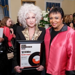 Cyndi Lauper's 'She's So Unusual' inducted into National Recording Registry/Library of Congress