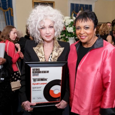 Cyndi Lauper's 'She's So Unusual' inducted into National