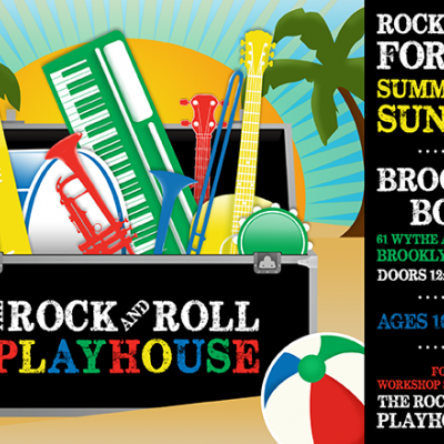 The Rock and Roll Playhouse Announces New Season of Rock & Roll For Kids at Brooklyn Bowl & The Ca