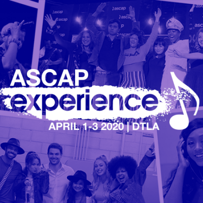 ASCAP Introduces Curated Programming Tracks to 2020 ASCAP Experience For First Time