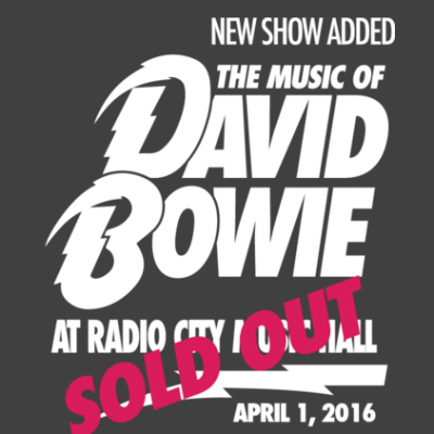David Bowie Tribute - Radio City Music Hall (NYC) | Shore