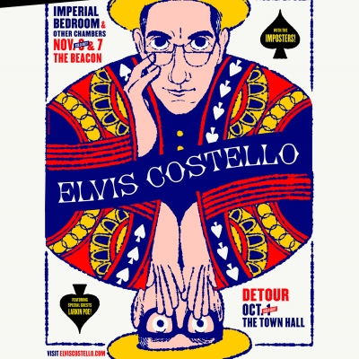 "New Elvis Costello & The Imposters Dates Come This Fall as ""Costello and his bandmates are still at"