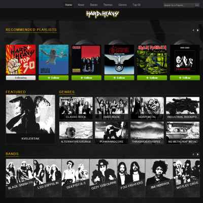 "Expert Curated X5 App ''Hard & Heavy"" Explores The World Of Rock - From Hendrix To Nirvana"