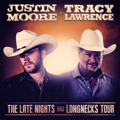 Justin Moore And Tracy Lawrence Announce 2020 Late Nights And Longnecks Tour