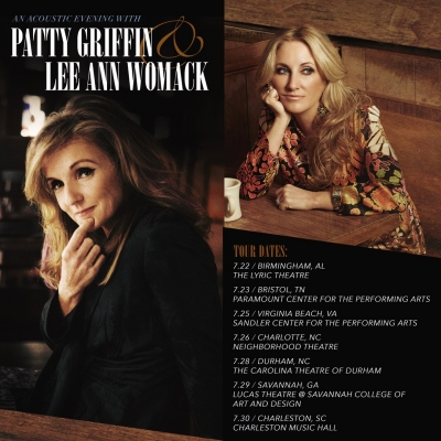 "Lee Ann Womack & Patty Griffin Embark on Joint Tour, ""An Acoustic Evening with Patty Griffin & Lee A"