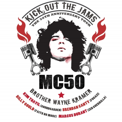 MC5 Supergroup MC50 Announces Support for Kick Out The Jams: The 50th Anniversary Tour