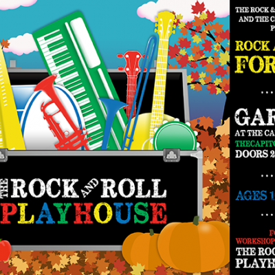 "The Rock and Roll Playhouse Announces Fall 2016 Season of ""Rock & Roll For Kids"" at Garcia's at The"