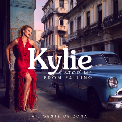 "Kylie Stars In New Video For Single ""Stop Me From Falling"" Featuring Cuban Group Gente De Zona"