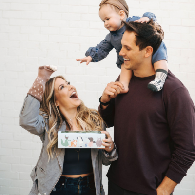 Shawn Johnson East & Andrew East Introduce Teddy & Bear, A Children's Brand Designed with Magical Moments in Mind