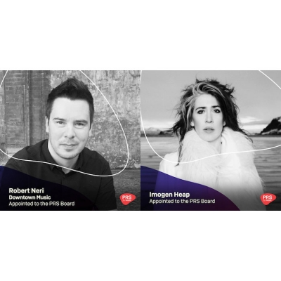 PRS Elects Downtown's Roberto Neri and Imogen Heap to Board