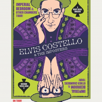 "Elvis Costello & The Imposters Bring Their ""Imperial Bedroom & Other Chambers"" Tour To North America"