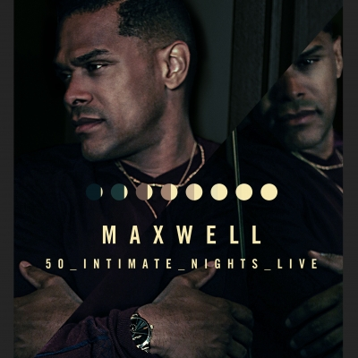 Maxwell Announces 50 Intimate Nights Live Tour