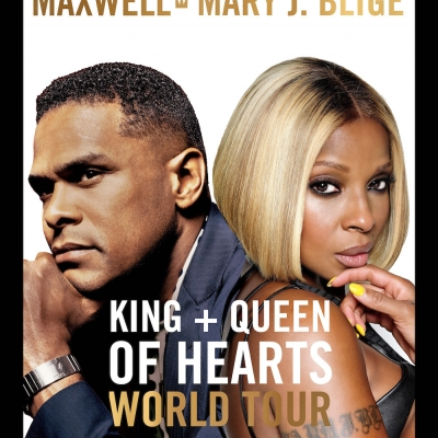Maxwell And Mary J. Blige Set to Embark on The King and Queen of Hearts World Tour