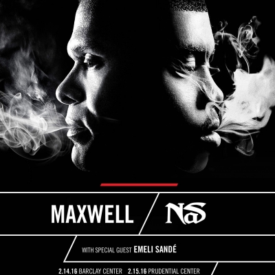 Maxwell Announces Valentine's Day Concert At Barclay Center with Nas; First New York Show in Five Ye