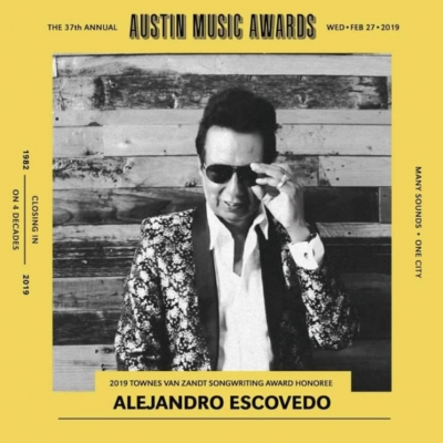 Alejandro Escovedo Announces 2019 U.S. Tour Dates On Heels Of Intelligent, Passionate (NPR) Border Suite The Crossing