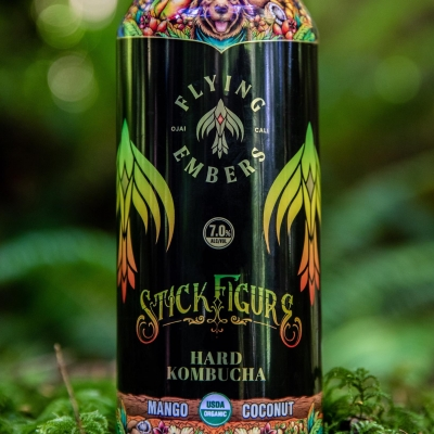 Flying Embers And Stick Figure Announce Collaboration Hard Kombucha