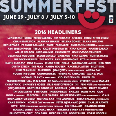 Summerfest dates