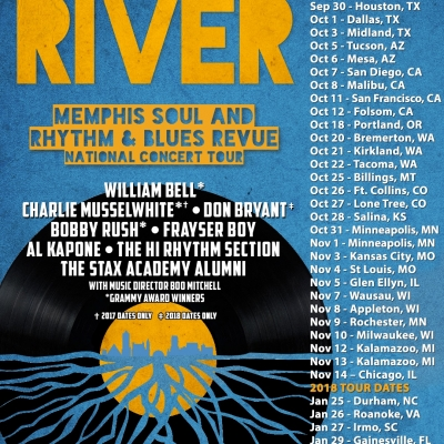 "Three Generations Of Delta Musicians Come Together For ""Take Me To The River"" Tour This Fall"