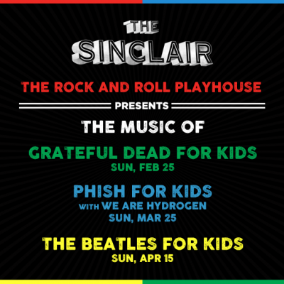 The Rock and Roll Playhouse Announces Inaugural Shows in Boston at The Sinclair