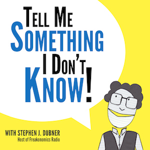 Stephen J. Dubner Launches New 'Tell Me Something I Don't Know' Season Ahead of Live NYC Tapings