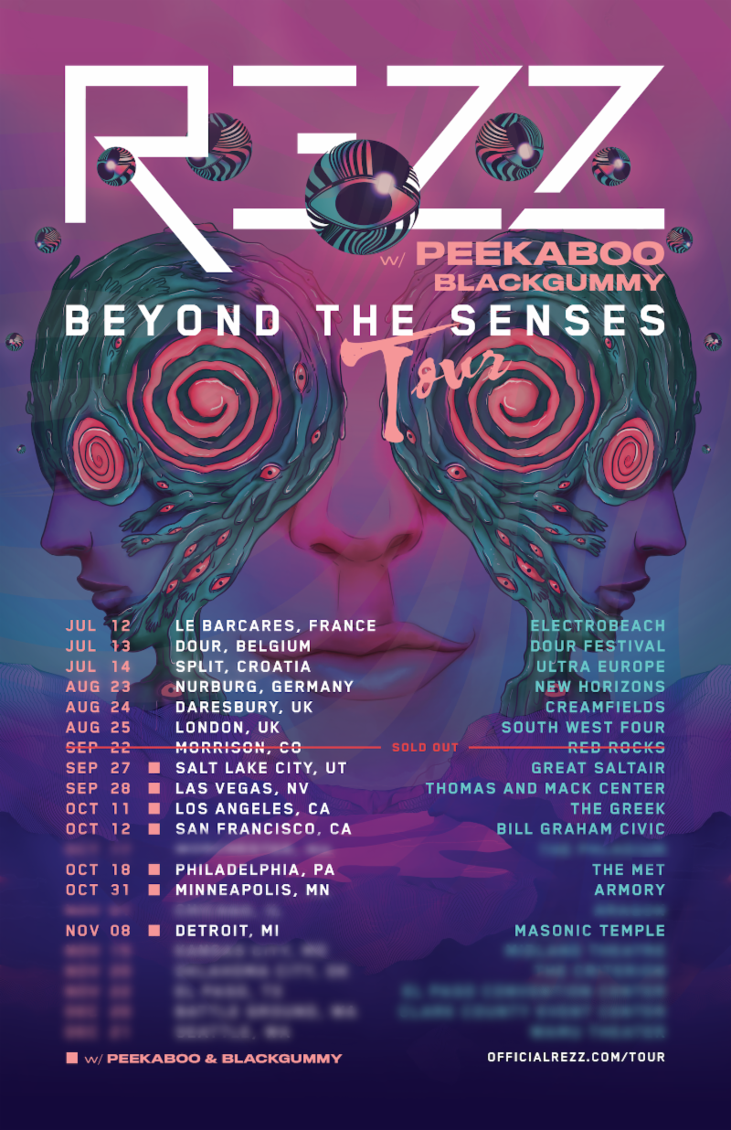 Rezz To Headline Iconic Theaters Across The Us On Fall Beyond The