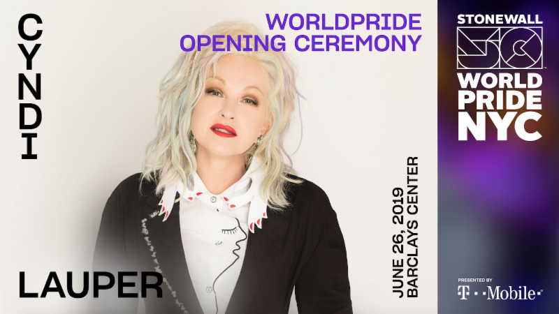 NYC Pride Announces Worldpride Opening Ceremony, June 26 At