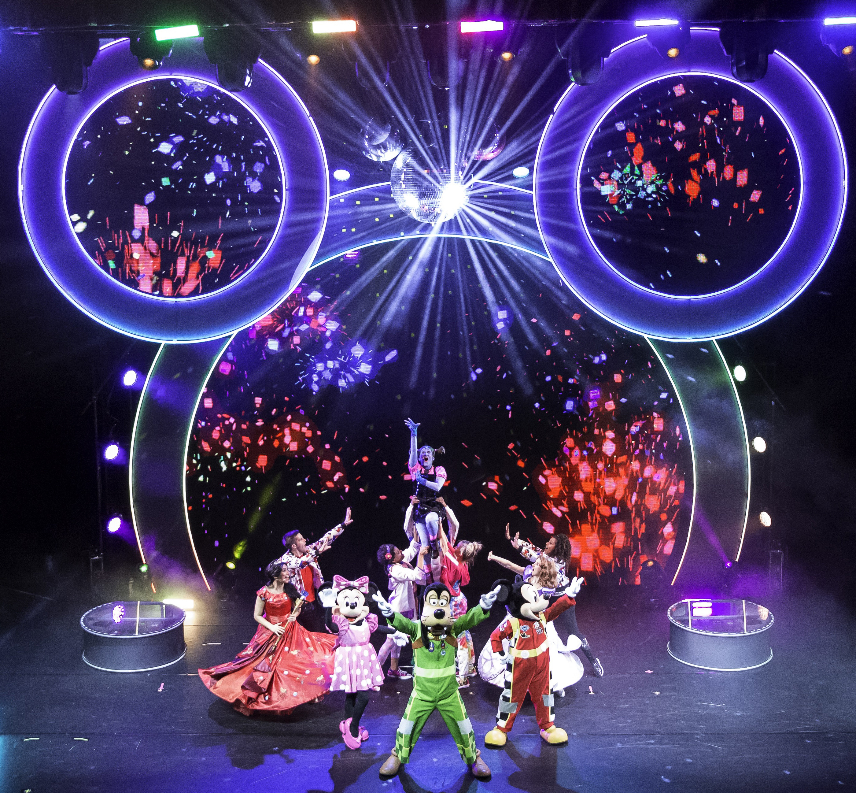 disney junior dance party on tour is traveling the nation with a high energy interactive live show bringing the beloved characters and music from the 1