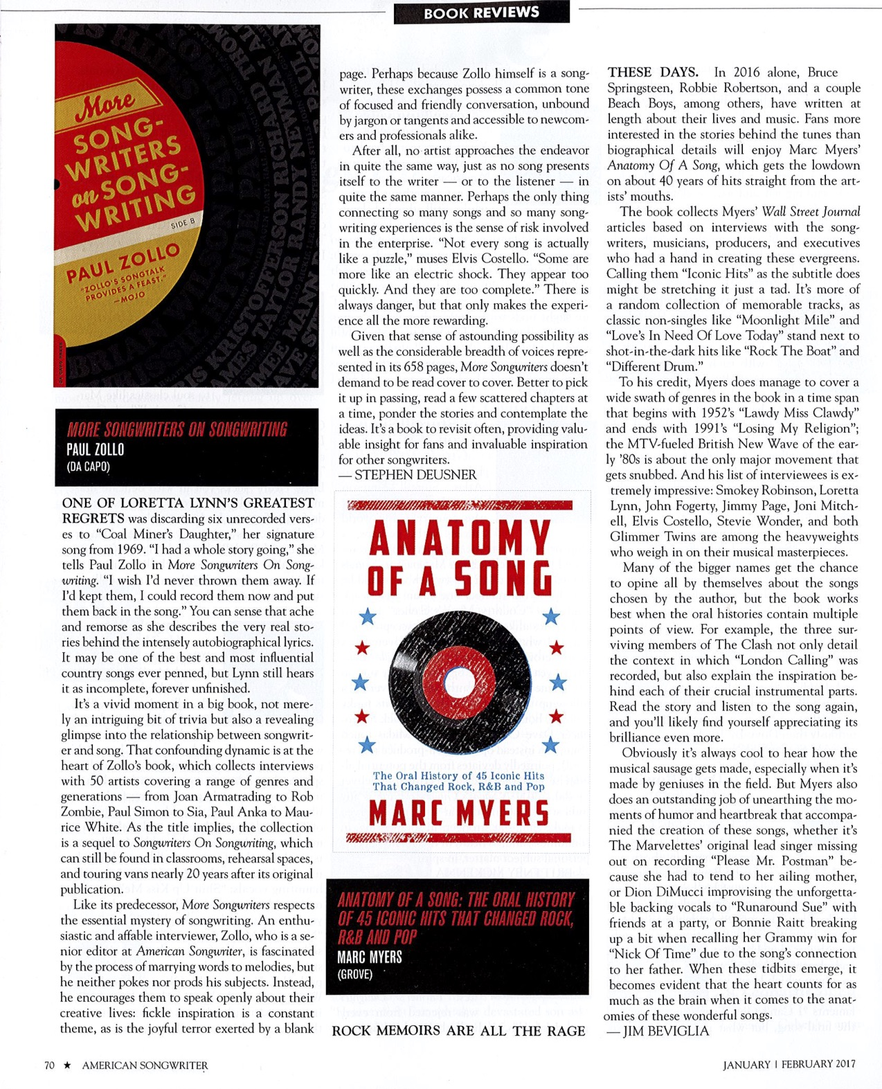 Anatomy Of A Song The Oral History Of 45 Iconic Hits That 4278906