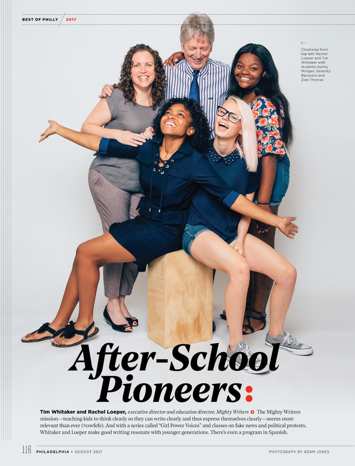 after school pioneers rdquo mighty writers awarded ldquo best of philly hot on the heels of praise from the new yorker and npr philadelphia magazine just awarded education non profit mighty writers as the best